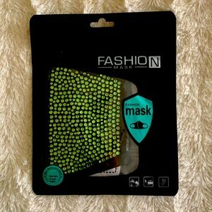 Bling 3D Face Mask Filter Pocket Soft Cotton Fabric - Hand made/Made in Canada